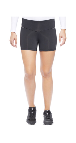 asics Hot - Pantalones Running Mujer - Full Zip, Short negro